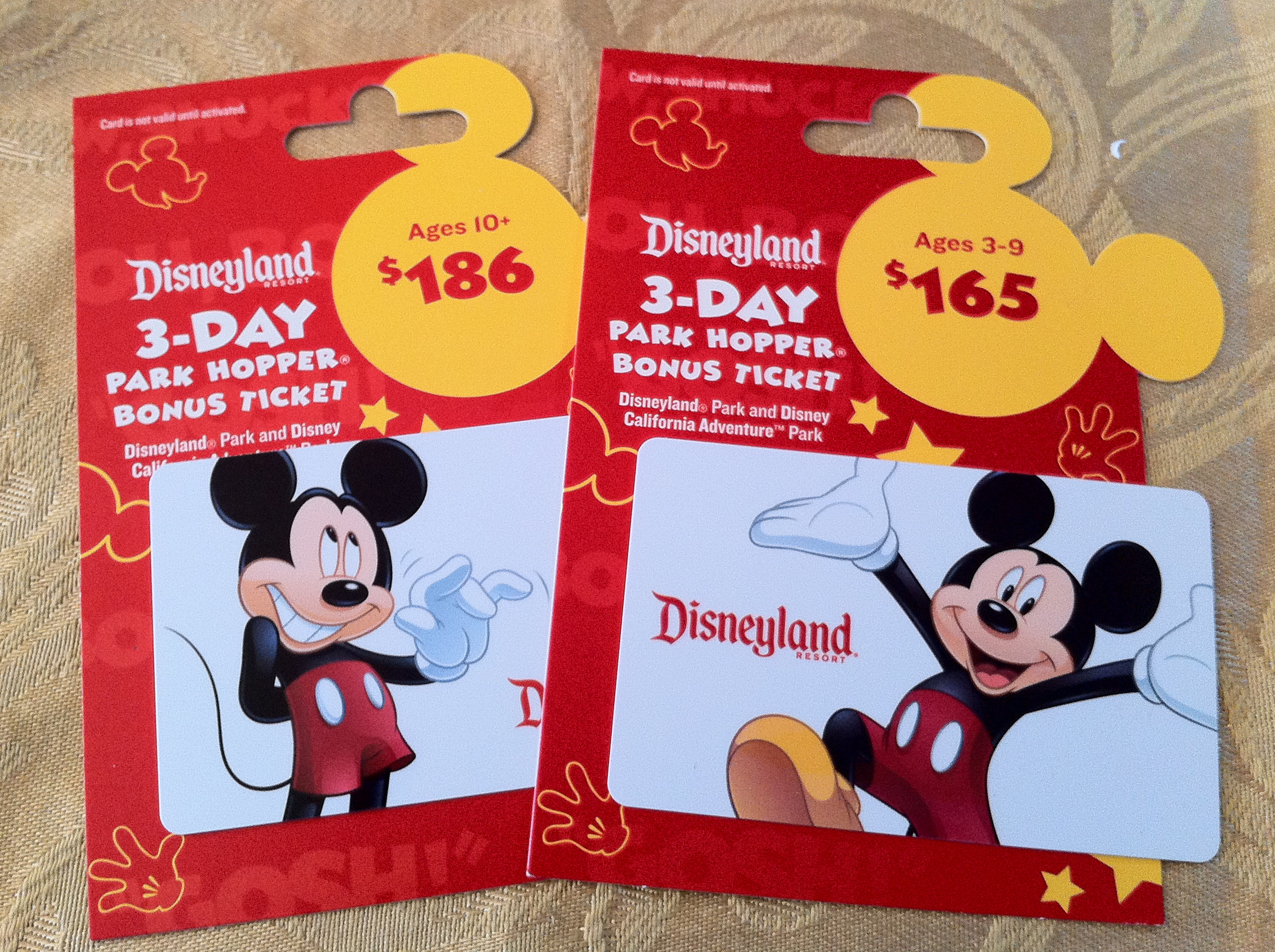 Disney on a Budget: Work that Albertsons Gift Card Promo!!!