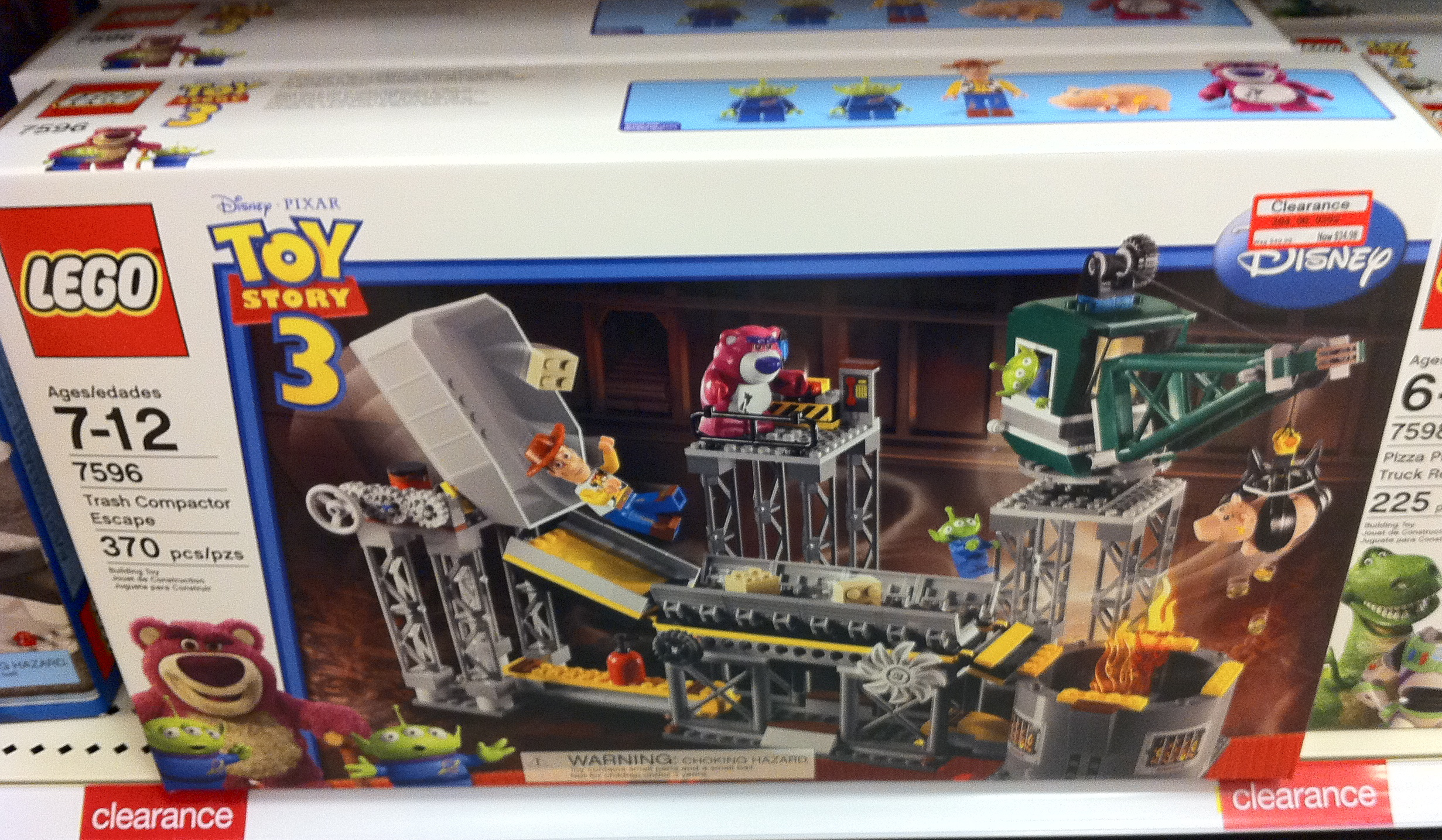 Target list of lego sets on clearance watch for them to - Lego toys story ...