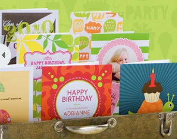 Tiny Prints is offering a FREE Personalized Birthday ca