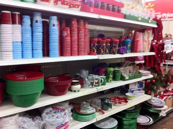 There was lots of tableware items including disposable plates and cups from Solo and Hefty. & Walmart: Christmas Clearance 75% off (Better than FREE Solo Plates ...