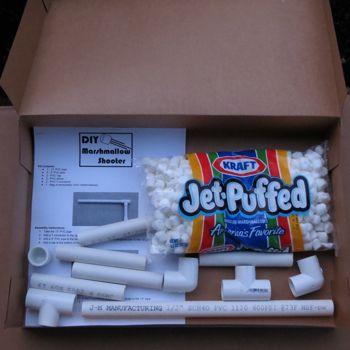 DIY Marshmallow Shooter Kit (great gift for boys or girls ...