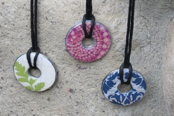 Washer pendant necklaces here aloadofball