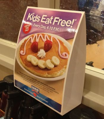 IHOP Pancake Review & $50 Gift Card Giveaway