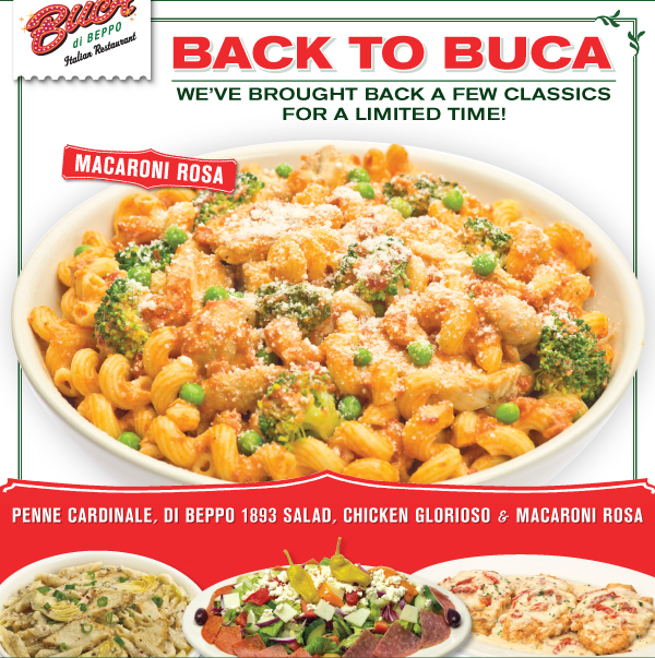 image about Buca Di Beppo Printable Coupons known as Buca di Beppo: $10 off $20 Coupon - Thrifty and Prosperous