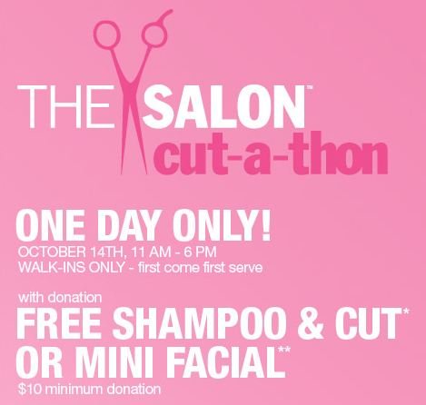 ulta salon haircut coupons ulta free hair cut or mini with 10 donation 10 2887