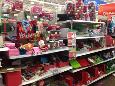 Walmart christmas clearance now 75 off