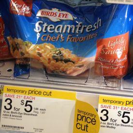 steam fresh chef's favorite