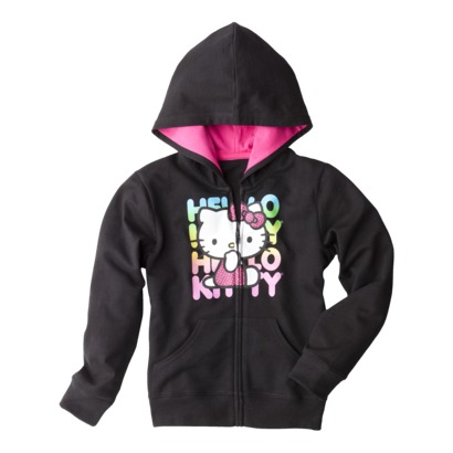 Today only, you can get Girl's Hello Kitty Rainbow zip-up hoodie for only $10.00 (reg. $16.99) as part of Target.com Daily Deals. You are saving 41