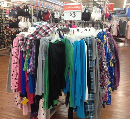 locals all clearance clothing at covington walmart is 3