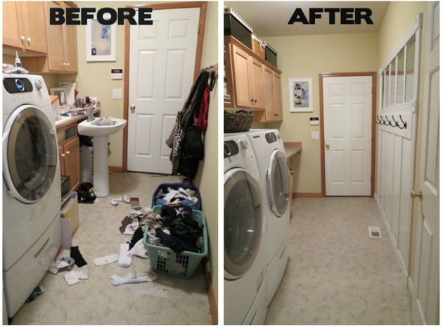 Laundry Room Spring Cleaning