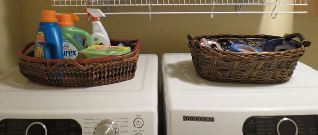 washer dryer baskets