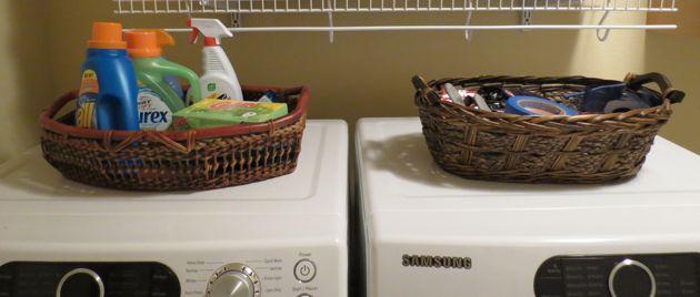 washer dryer baskets