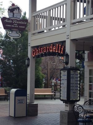 California Adventure Ghirardelli