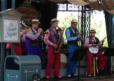 Disneyland Royal Street Bachelors