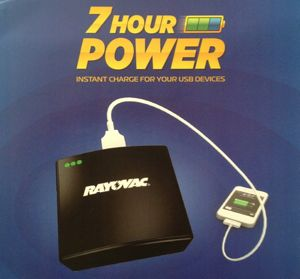 Rayovac 7 Hour Power