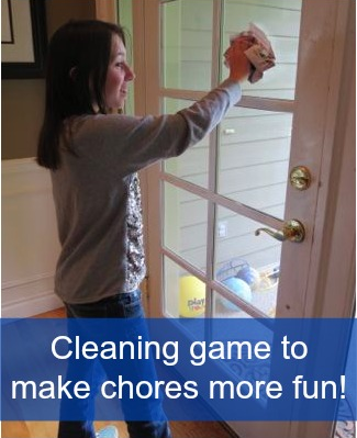 Cleaning Game To Help Make Chores Fun For Kids