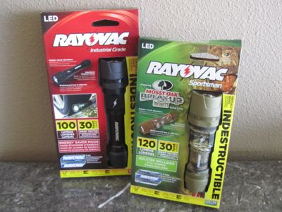 Rayovac Indestructible Flashlights
