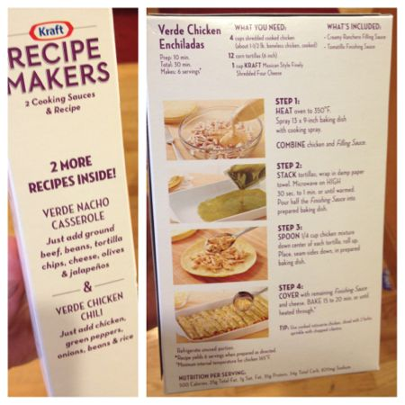 recipe makers 3 options