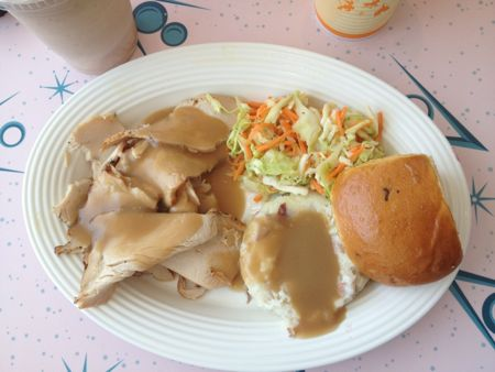 Flo's V8 Turkey Dinner