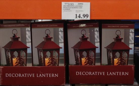 costco Christmas lantern