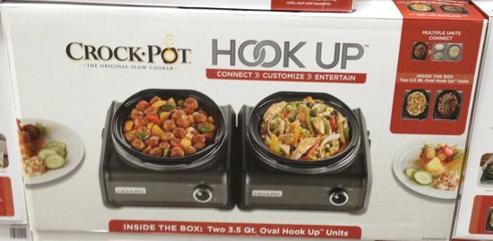 costco crock-pot hook up