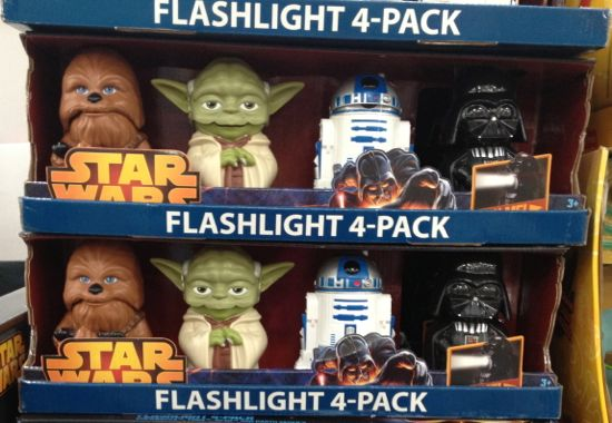 costco star wars flashlight