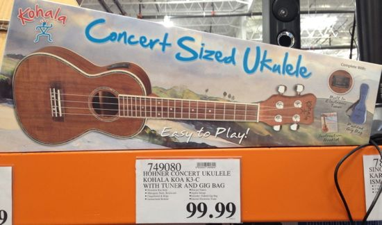 costco ukele