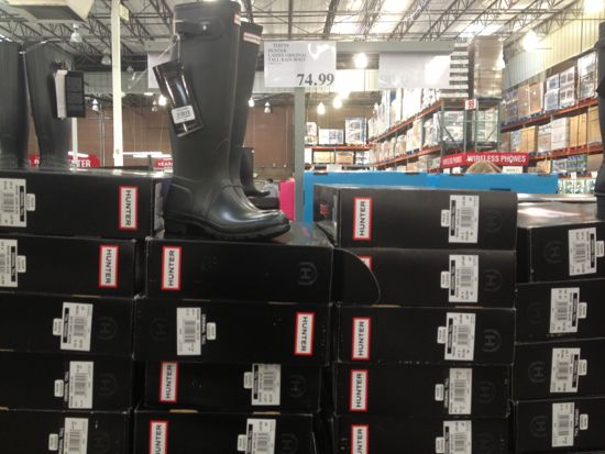Costco Hunter Boots
