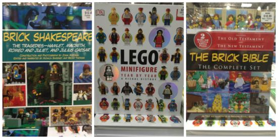 Costco LEGO books