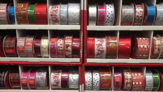 Costco christmas ribbon