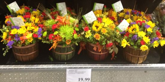 Costco flower arrangement