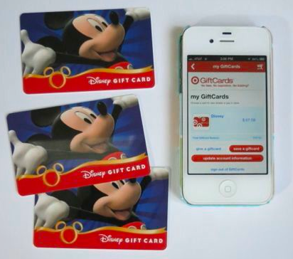 Super easy way to save Disney gift cards for your Disney vacation