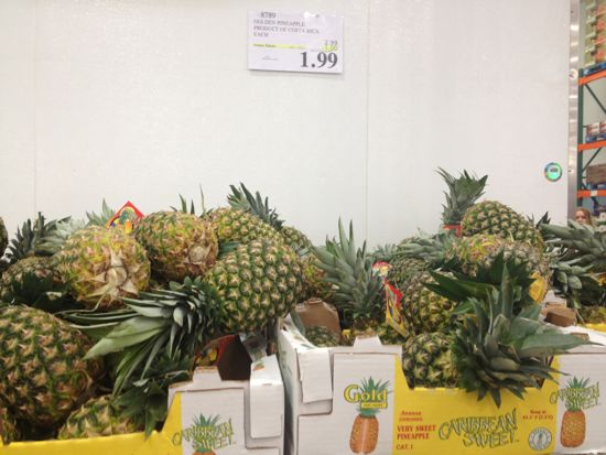 costco pineapple