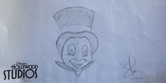 hollywood studios drawing