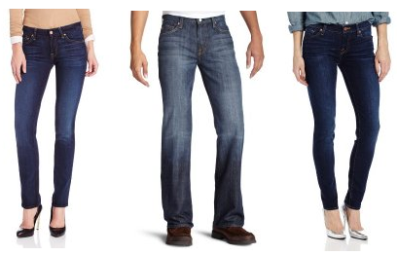 7 for ALL Mankind Jeans for Men & Women 50% off   FREE Shipping