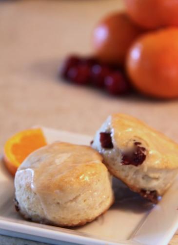 Orange-Cranberry Biscuits