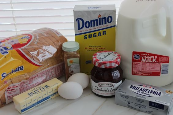french toast roll up ingredients