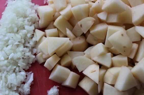 potato and onions