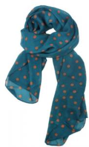 pokadotscarf