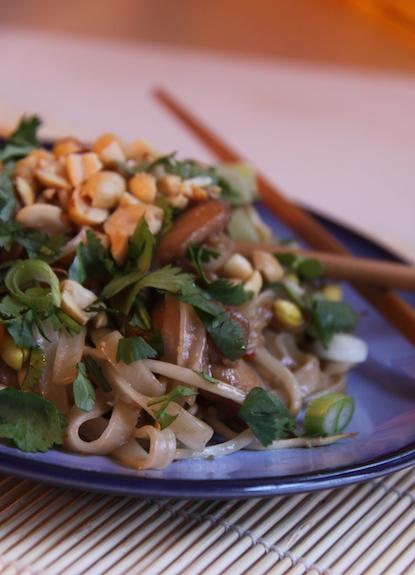 Make Chicken Pad Thai at Home