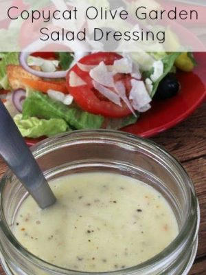 Make your own olive garden salad dressing at home for Olive garden salad dressing ingredients