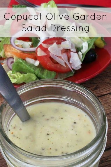 Make Olive Garden salad dressing at home