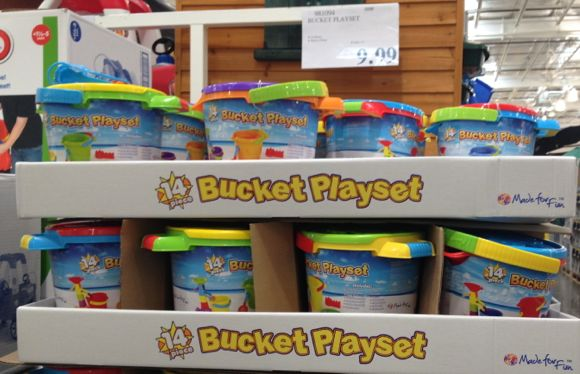 bucket playets
