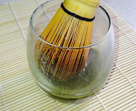 Dissolve Match in HOT water