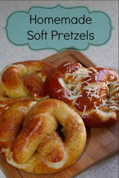 Homemade Soft Pretzels - so good!