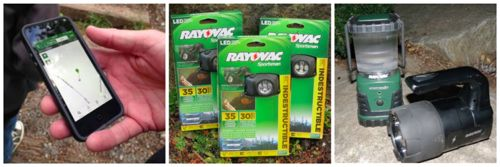 rayovac camping products