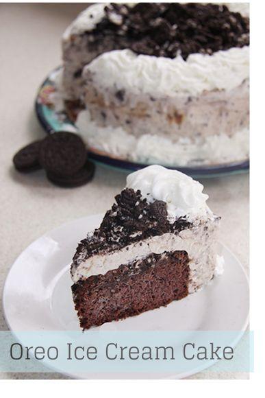 Design Your Own Ice Cream Cake : Homemade Oreo Ice Cream Cake