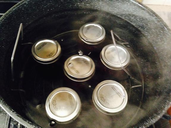 Fill jars