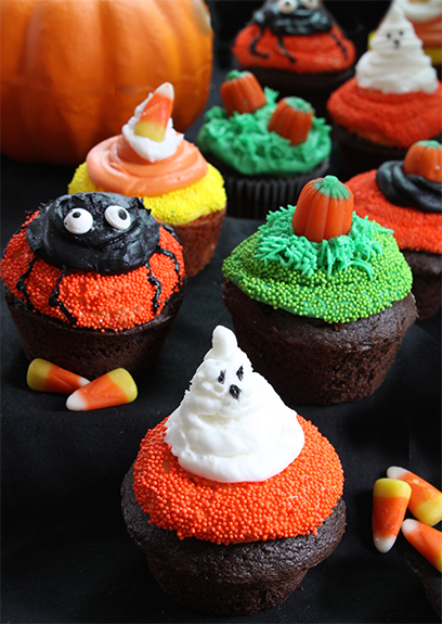 Fun Halloween Cupcakes - Easy to make!