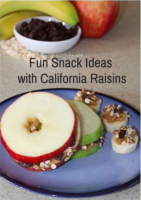 Fun Snack Ideas with California Raisins